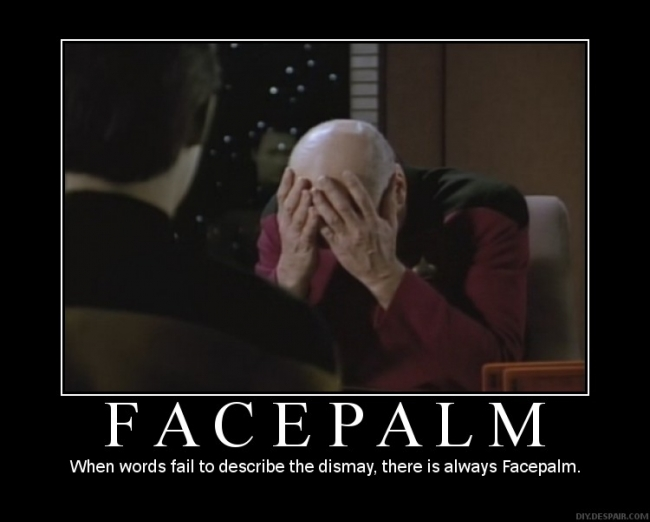 animated facepalm gif. Facepalm 1