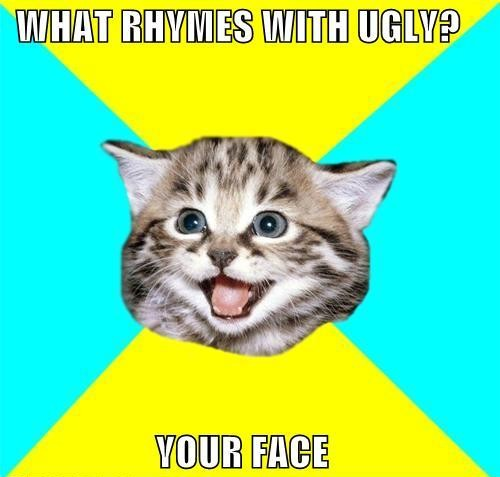 memes-what-rhymes-with-ugly-your-face