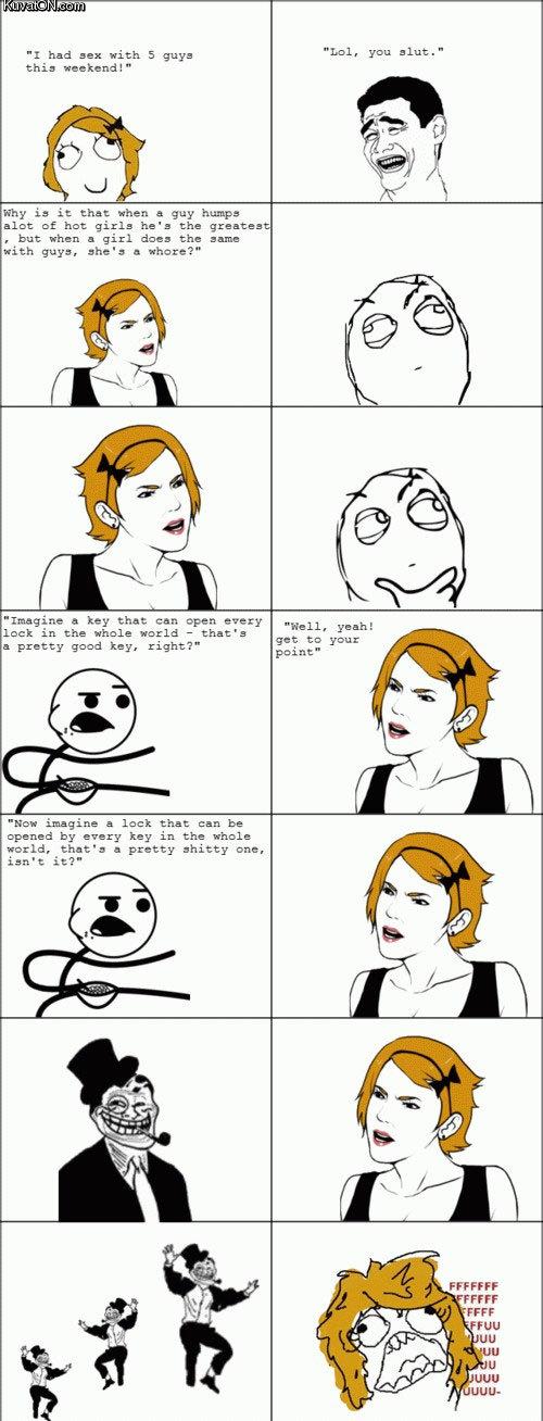 мемы комиксы про секс